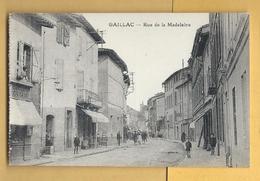 C.P.A. GAILLAC - Rue De La Madelaine - Gaillac