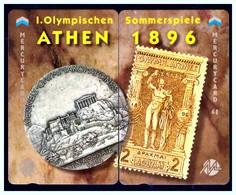 "MERCURY: Olympics Games Series (13) MEO0026-27 PUZZLE ""Athens 1896"" Rare (1.044ex) - United Kingdom"