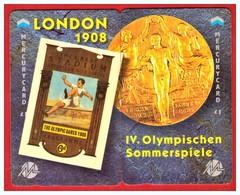 "MERCURY: Olympics Games Series (14) MEO0028-29 PUZZLE ""London 1908"" Rare (1.044ex) - United Kingdom"