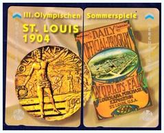 "MERCURY: Olympics Games Series (15) MEO0030-31 PUZZLE ""S. Louis 1904"" Rare (1.044ex) - United Kingdom"