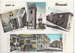 Saluti Da Recanati - Macerata - H4384 - Macerata