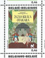 Belgique: Hergé - Tintin (état: **) N° 3643 ( Le Sceptre D'Ottokar  En Slovaque) - Bandes Dessinées