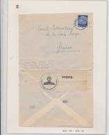 ZZ541 - Cover Stamp Hindenburg D.P. Osten - WARSCHAU 1940 To Geneve Suisse - German Censor Label - Germany