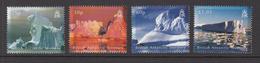 2007 British Antarctic Territory Icebergs  Complete Set Of 4   MNH - Nuovi