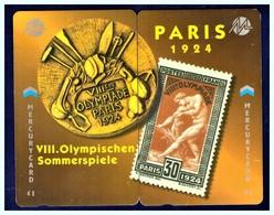 """MERCURY: Olympics Games Series (16) MEO0032-33 PUZZLE """"Paris 1924"""" Rare (1.044ex) - United Kingdom"""