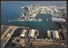 France La Reunion, Port, 1981 Writing On Back - Reunion
