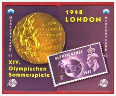 "MERCURY: Olympics Games Series (17) MEO0034-35 PUZZLE ""London 1948"" Rare (1.044ex) - United Kingdom"