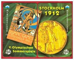 "MERCURY: Olympics Games Series (9) MEO0018-19 PUZZLE ""Stockholm 1912"" Rare (1.044ex) - United Kingdom"