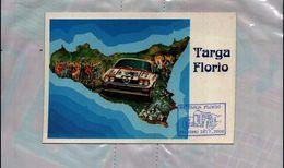 CARTOLINA POSTCARD BROVARONE ALDO TARGA FLORIO 1994 NUOVA NON VIAGGIATA Con Annullo - Rally