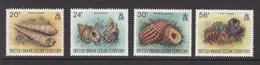 1996 British Indian Ocean Territory Shells Marine Life  Complete Set Of 4   MNH - Britisches Territorium Im Indischen Ozean