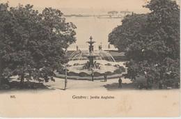 (CH1134) GENEVE . JARDIN ANGLAISE ... UNUSED - GE Genève