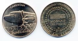 WW2 - Pièce De Collection - Monnaie De Paris 2018  CARENTAN D.DAY EXPERIENCE - Army & War