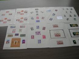 BELG.1964 Verzameling Zegels,Blokken ,Items Etc Uit 1965 ,mooi Lot - Collections