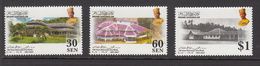 2007 Brunei House Of 12 Roofs Architecture Complete Set Of 3   MNH - Brunei (1984-...)
