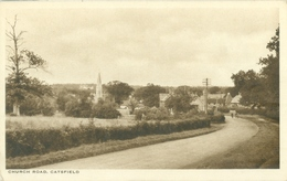 Catsfield; Church Road - Not Circulated. (The R.A.P. Co. Ltd. - London) - England