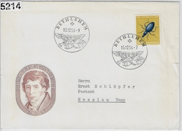 1956 Pro Juventute J166/635 Bethlehem To Nesslau 15.12.56 - Pro Juventute