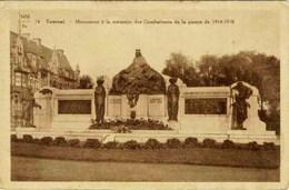 TOURNAI - Monument à La Mémoire Des Combattants De La Guerre 14-18 - Maison Hubeau-Marissens, Tournai - Marcovici - Tournai