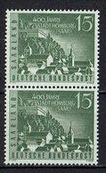 Saarland 1958 // Mi. 436 ** Paar (023..109) - 1957-59 Federation