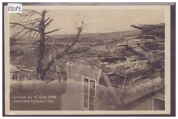 LA CHAUX D'ABEL - CYCLÔNE DU 12 JUIN 1926 - TB - NE Neuchâtel