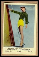 AUDREY HEPBURN Sexy In Hot Pants - Altes Original-Sammelbild (ca. 4,5 X 7 Cm) - 1701034 - Merchandising
