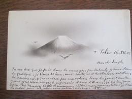 Superbe Carte  Partie De Tokio.tokyo. 1902 ;  Rare . 2 Timbres - Tokyo