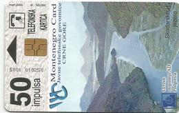 Montenegro 2000.  50 Units  Tirage : 100.000 Pcs - Montenegro