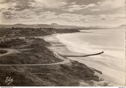 64 - BIDART - LA ROUTE DE LA PLAGE - LA PLAGE - GUETHARY - LES TROIS CORONNES - Biarritz