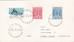 Switzerland FDC 1966 Europa CEPT (DD19-7) - 1966
