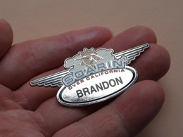 SOARIN Over California BRANDON ( Zie Foto / Disney Made In China ) Pin - Brooch ! - Disney