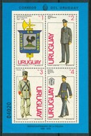 1979 Uruguay Police Uniformi Uniforms Uniformes Militari Military Armèe MNH** Ye4 - Uruguay