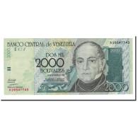 Billet, Venezuela, 2000 Bolivares, 1998, 1998-08-24, KM:80, NEUF - Venezuela