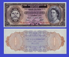 BELIZE 2 DOLLAR 1974   - Copy- Replica - Belize