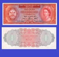 BELIZE 5 DOLLAR 1975   - Copy- Replica - Belize