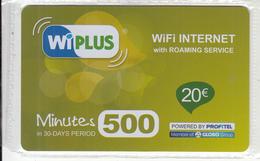 GREECE - Profitel Internet Prepaid Card 20 Euro, Mint - Greece