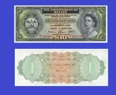 BELIZE 10 DOLLAR 1975   - Copy- Replica - Belize