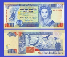 BELIZE 100 DOLLAR 1990   - Copy- Replica - Belize