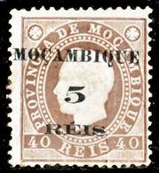 !■■■■■ds■■ Mozambique 1898 AF#52(*) Local Surcharge 5 On 40 Réis (x0828) - Mozambique