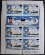 EVE/55 - 1983 - SEYCHELLES - BLOC NEUF** - CHARLES ET DIANA ROYAL WEDDING - Seychelles (1976-...)