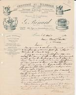 Paris - G.Bénard - Chauffage Et Eclairage - 1910 - 1900 – 1949