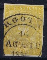 Parma  Sa 6  Mi Nr 6a Obl./Gestempelt/used  1853 - Parma