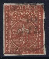Parma  Sa 8  Mi Nr 8 Obl./Gestempelt/used  1853 - Parma