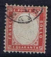 Italy  Sa 3  Mi Nr 11  Obl./Gestempelt/used - 1861-78 Vittorio Emanuele II