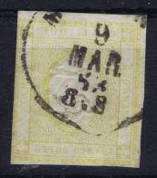 Italy  Sa 10 Mi Nr 13  Obl./Gestempelt/used 1862 - 1861-78 Vittorio Emanuele II