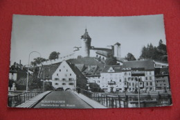 Schaffhouse Schaffhausen Rheinbrucke Mit Munot Castel NV - SH Schaffhausen