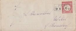 DR Brief EF Minr.19 R3 Fürt R.B. Düsseldorf 11.8.74 - Briefe U. Dokumente