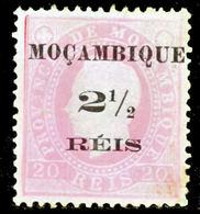 !■■■■■ds■■ Mozambique 1898 AF#51(*) King Luiz Surcharge 2,5 Type I (x10232) - Mozambique