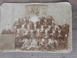 Oude Foto Afmetingen 17 Cm 0p 12 Cm Oud Van 1899 Dwarsfluit  Blokfluit  Petegem ?????? - Photographs