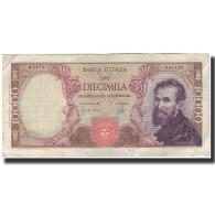 Billet, Italie, 10,000 Lire, 1964-07-27, KM:97b, TTB - [ 2] 1946-… : République