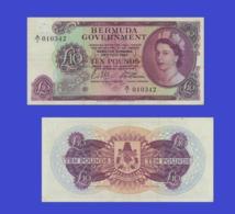 BERMUDA 10 Pound  1964 - Copy- Replica - Bermudes
