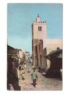 Tunisie Tunis Rue Des Teinturiers Cpa Carte Animée - Tunesien